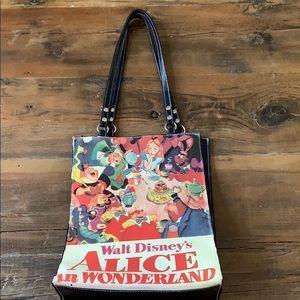 Vintage Walt Disney Alice in Wonderland Bag